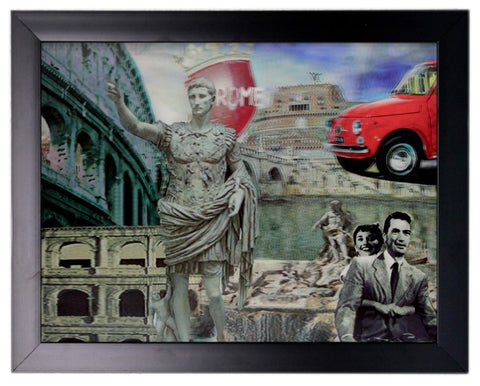 Iconic 3D 44x34cm - Roman Holiday