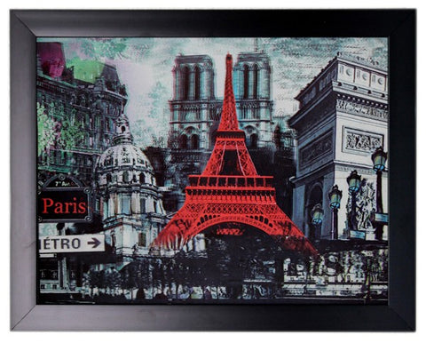 Iconic 3D 44x34cm - Parisian Holiday