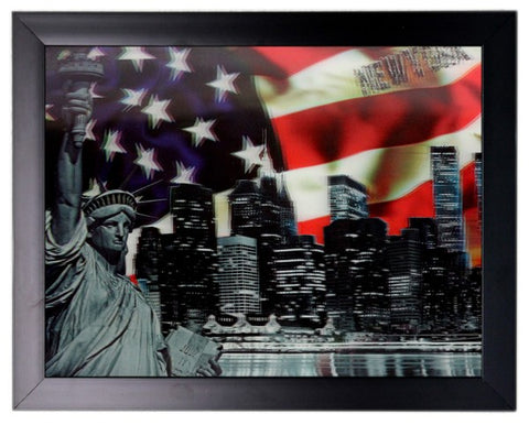 Iconic 3D 44x34cm - New York Holiday