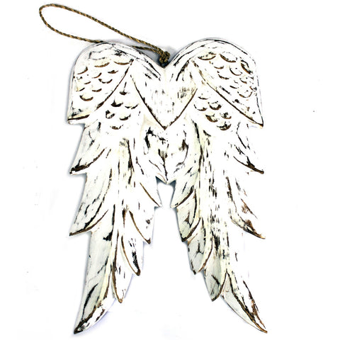 Hand Crafted Double Angel Wing - 31cm