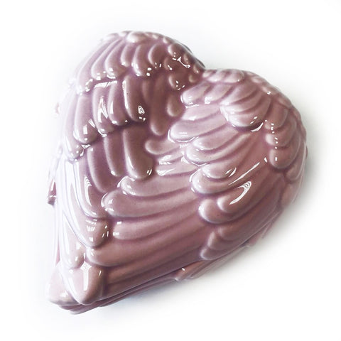 Angel Wings Trinket Box - Pink