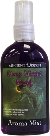 Deep Violet Musk 100ml Room Spray