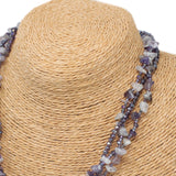 Chipstone & Bead Necklace -Amethyst