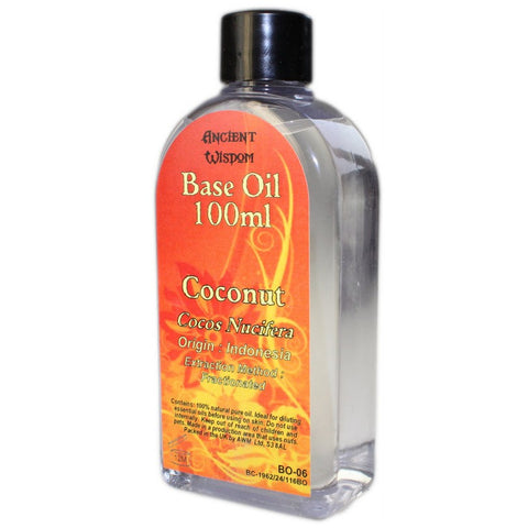 Fractionated Coconut 100ml Base Oil