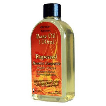 Rapeseed Oil 100ml Base Oil