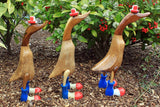 Small French Bamboo Duck - 25cm