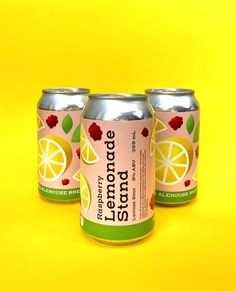 Raspberry Lemonade Stand - 355mL