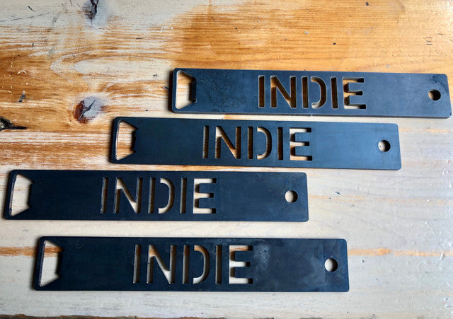 Indie Steel Bottle Opener