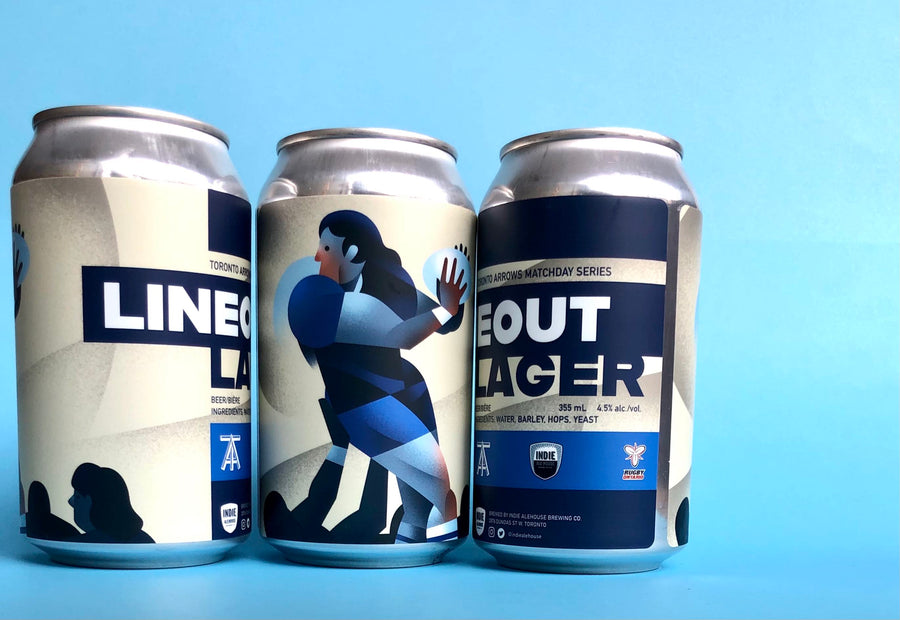 Line Out Lager  - Single 355mL