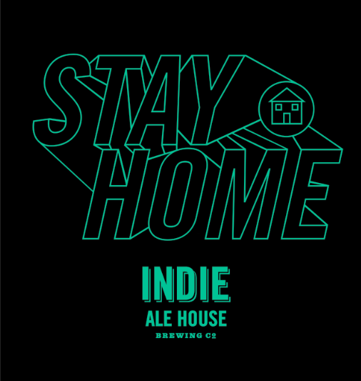 T-shirt - Stay Home