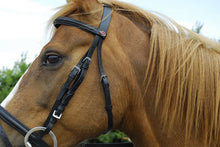 Leather Bridle With Flash Noseband