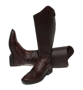 Rhinegold Wide Leg 'Luxus Extra' Leather Riding Boot