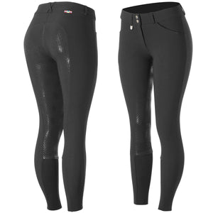 Horze Grand Prix Women's Silicone Grip Full Seat Breeches