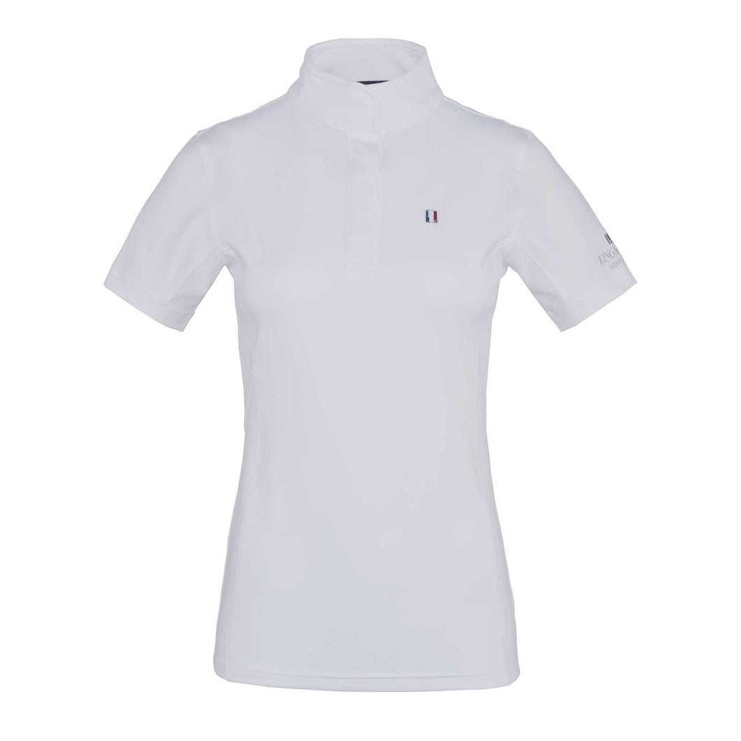KINGSLAND CLASSIC LADIES SS SHOW SHIRT