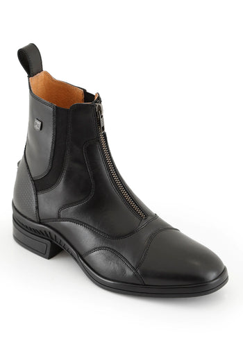 Aston Carbon Tech Ladies Leather Paddock Boots