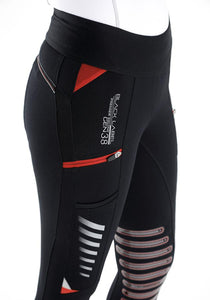 Rexa Ladies Gel Knee Pull On Riding Tights