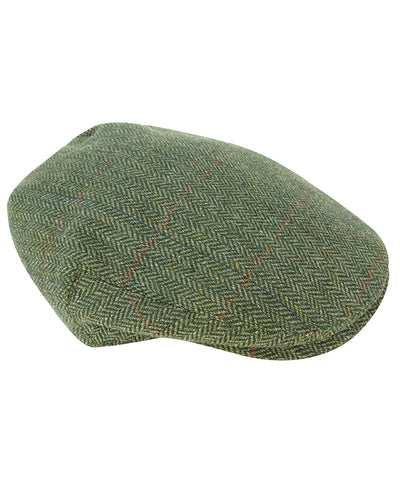 Helmsdale Waterproof Tweed Cap