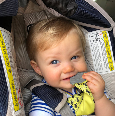 Tasty Tie is a great remedy for teething.