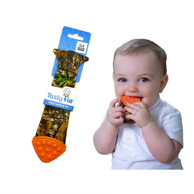stocking stuffers baby toys boy tie teething camo realtree