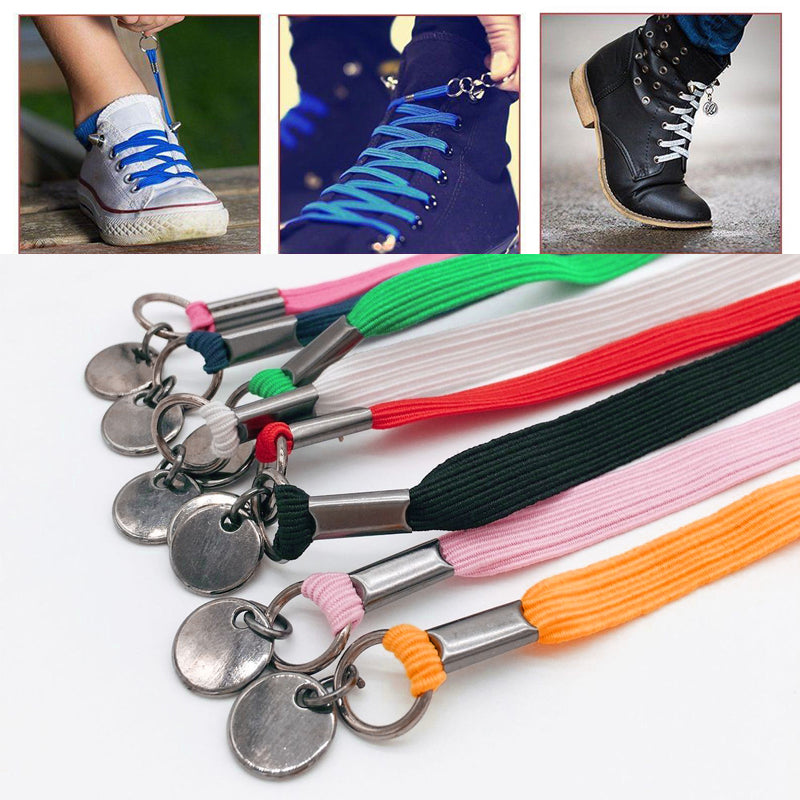 Mygeniusgift™ Elastic No Tie Quick Shoelaces - mygeniusgift
