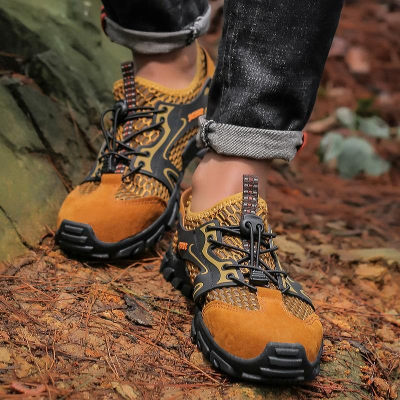Breathable Mesh Outdoor Walking Shoes - mygeniusgift