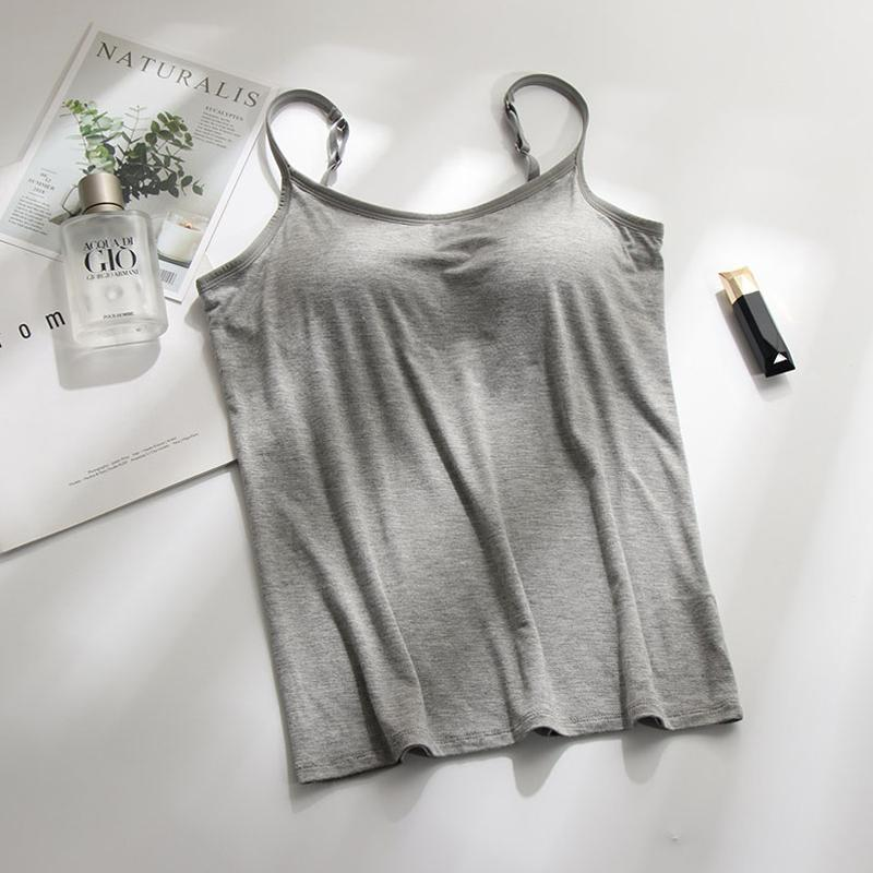 BraCami Tank with Built-In Bra