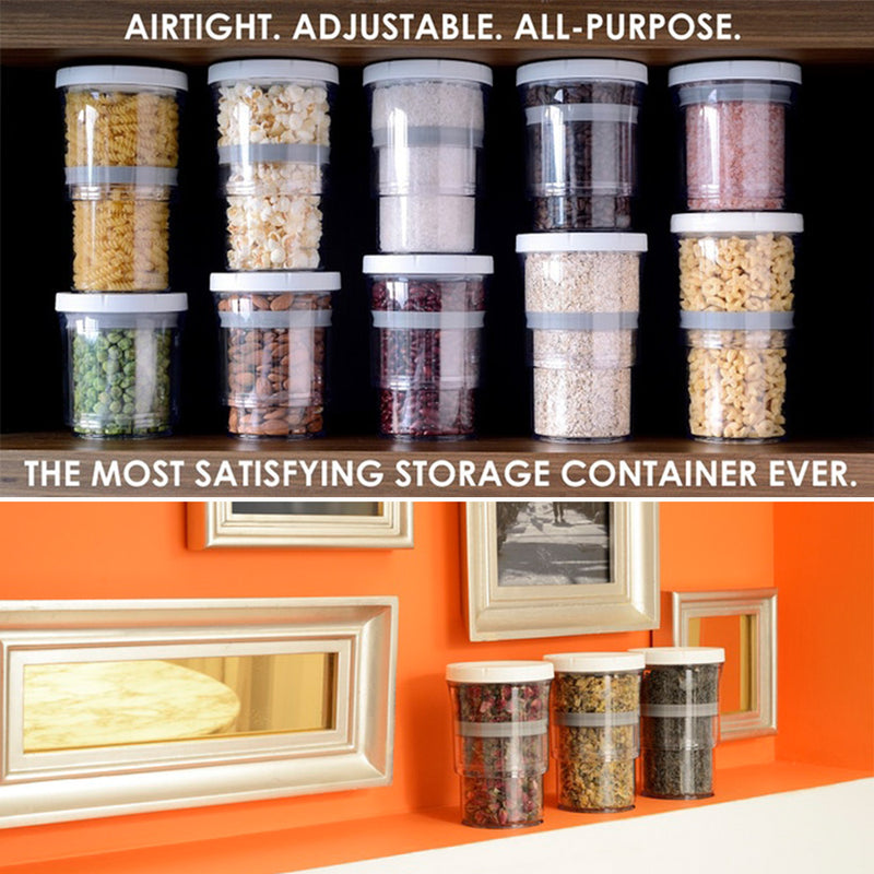 Mygeniusgift™ Airtight Adjustable Storage Container - mygeniusgift