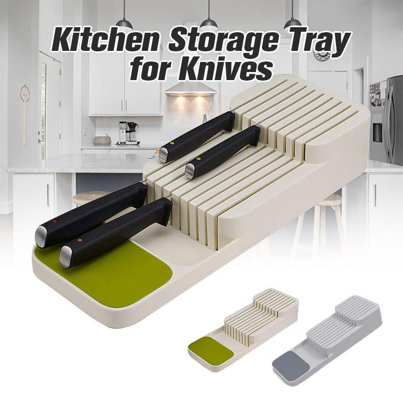 Mygeniusgift™ Kitchen Storage Tray for Knives - mygeniusgift