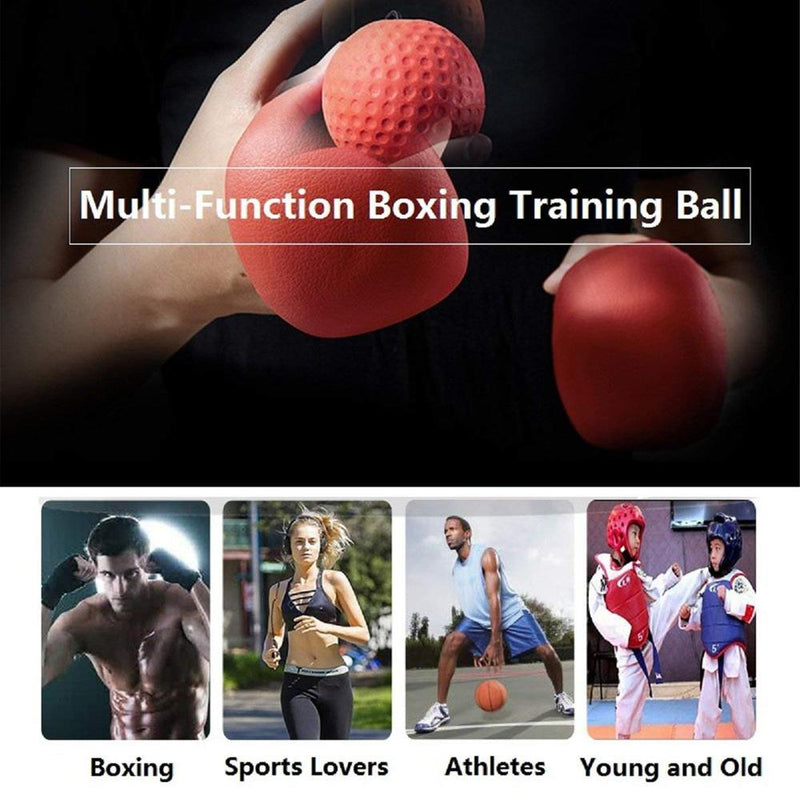 Mygeniusgift™ Boxing Fight Ball Reflex for Improving Speed Reactions - mygeniusgift