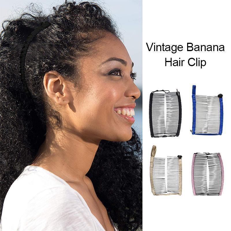 Vintage Banana Hair Clip - mygeniusgift