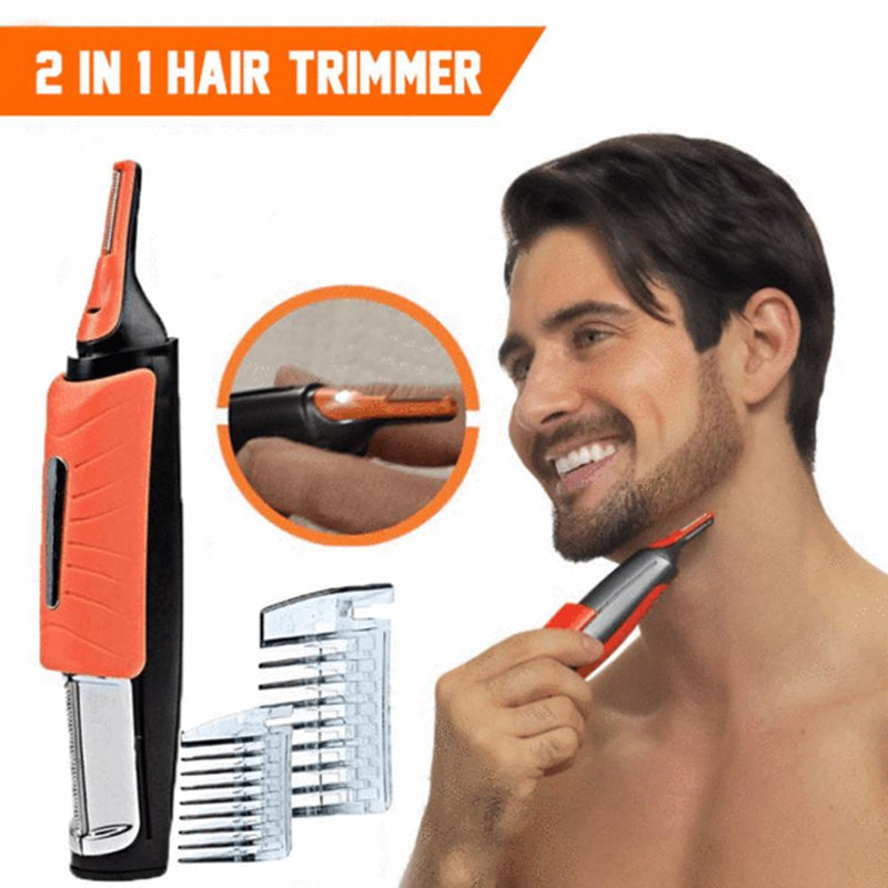 2 in 1 Switchblade Hair Trimmer - mygeniusgift