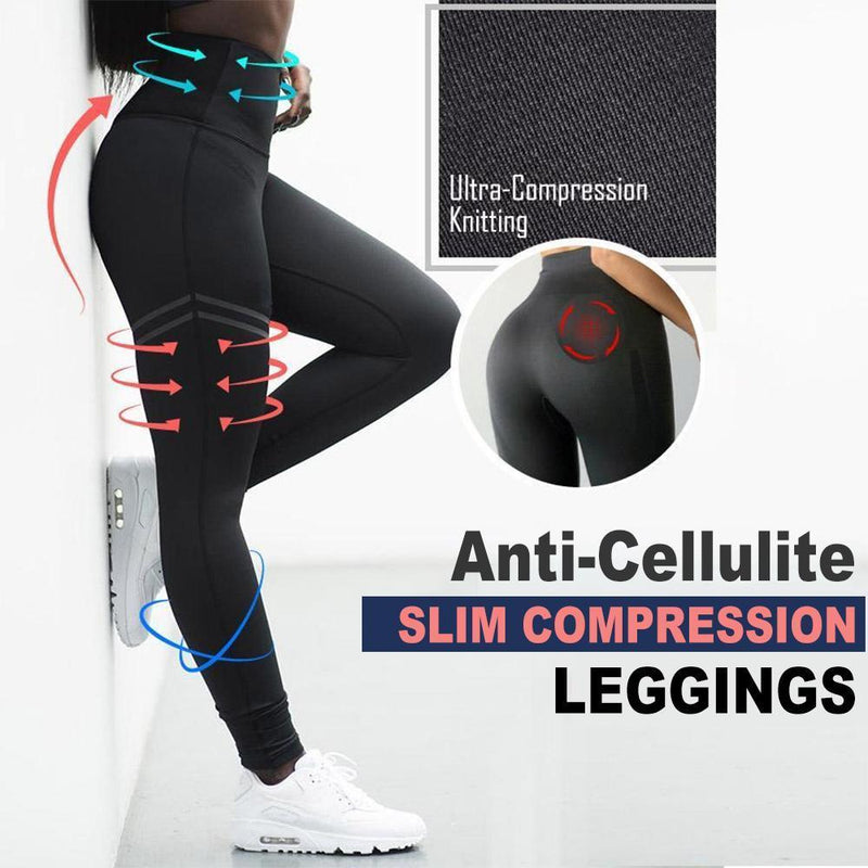 Mygeniusgift™ Women's Anti-cellulite Compression Leggings - mygeniusgift