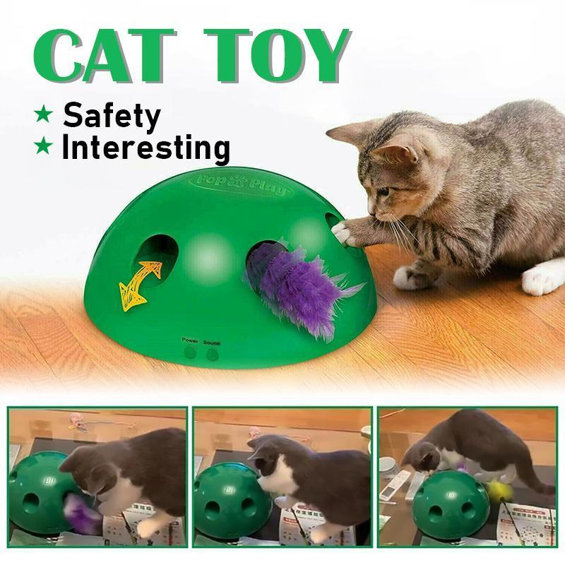 Mygeniusgift™ Peek-A-Boo Cat Toy - mygeniusgift