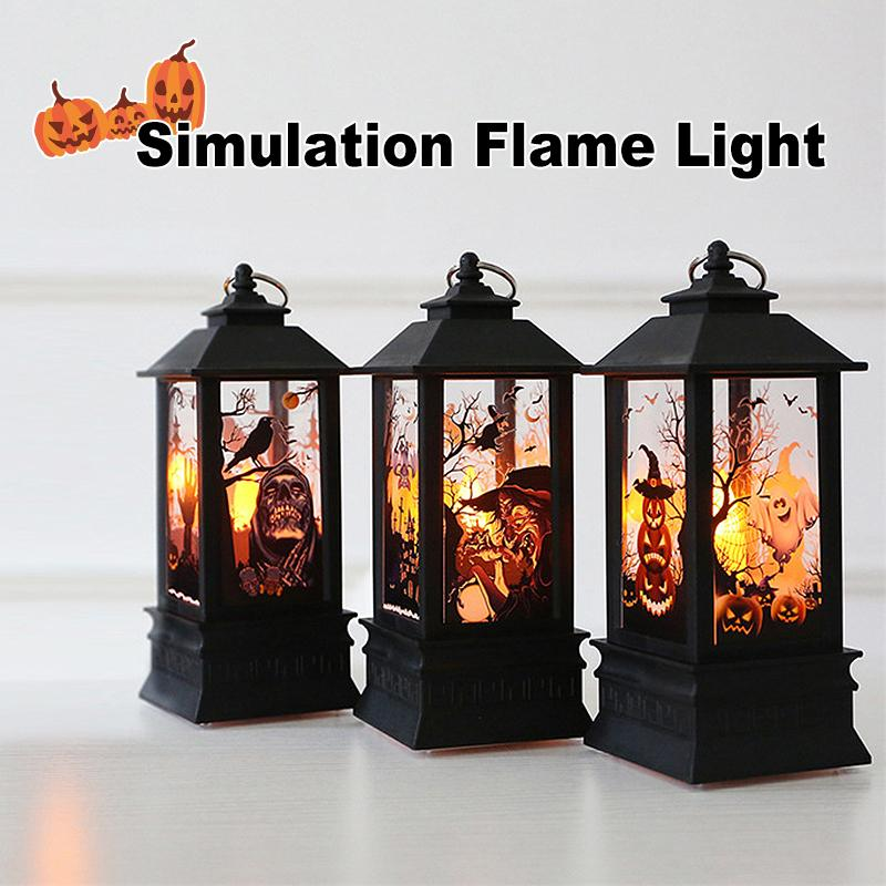 Halloween Simulation Flame Light - mygeniusgift