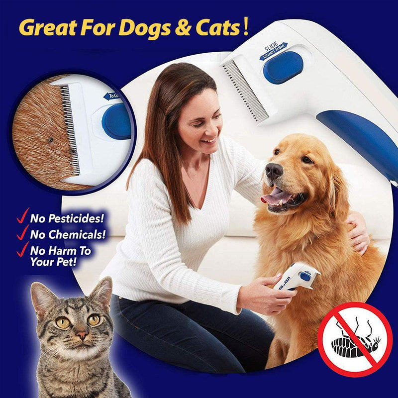 Mygeniusgift™ Electric Flea Remover for Pets - mygeniusgift