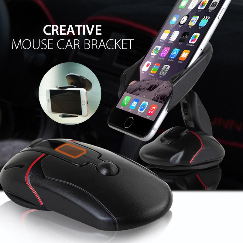 【Last Day Promotion】Rotating Mouse Phone Holder Car Bracket