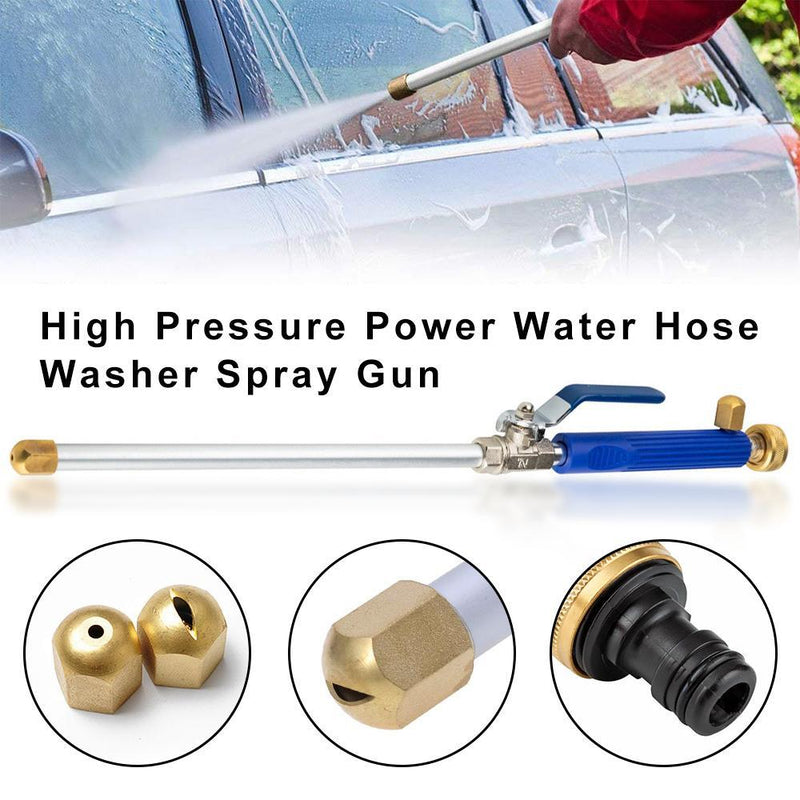 High Pressure Water Hose with Nozzle - mygeniusgift