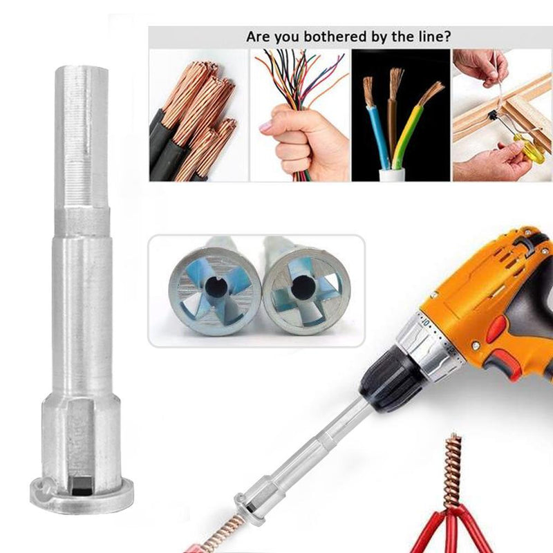 Mygeniusgift™ Cable Wire Stripping And Twisting Tool - mygeniusgift
