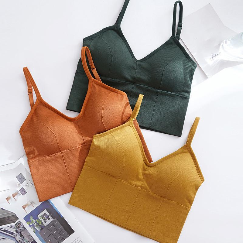 Women Sports Bra Basic Crop Top