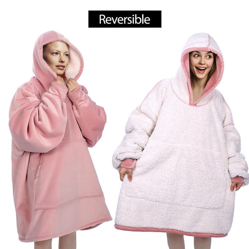 Comfybear  Oversized Blanket Sweatshirt For Adults & Children
