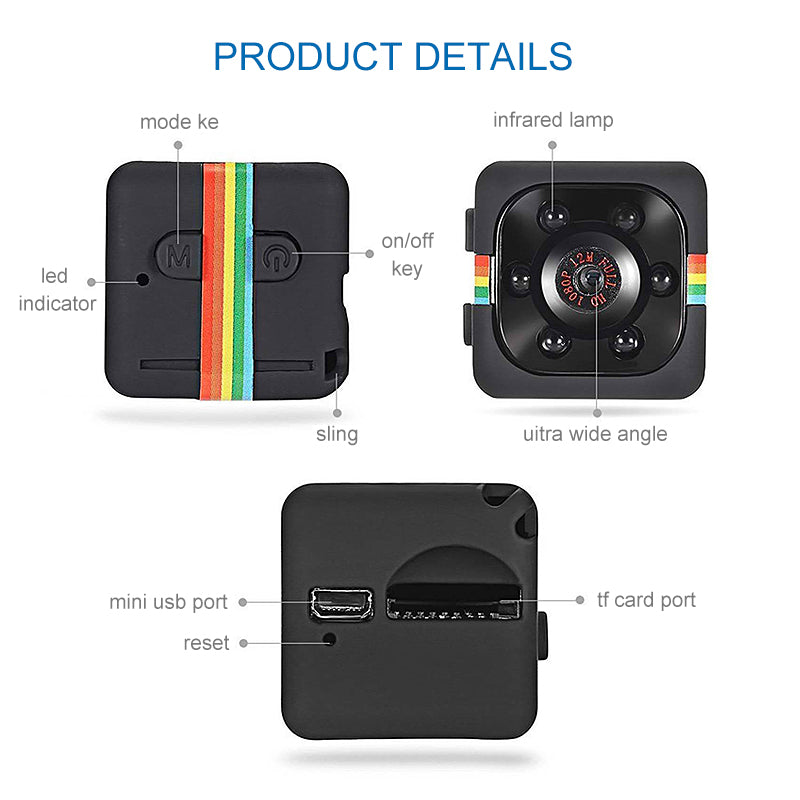 Mygeniusgift™ Mini DV 1080P Camera - mygeniusgift