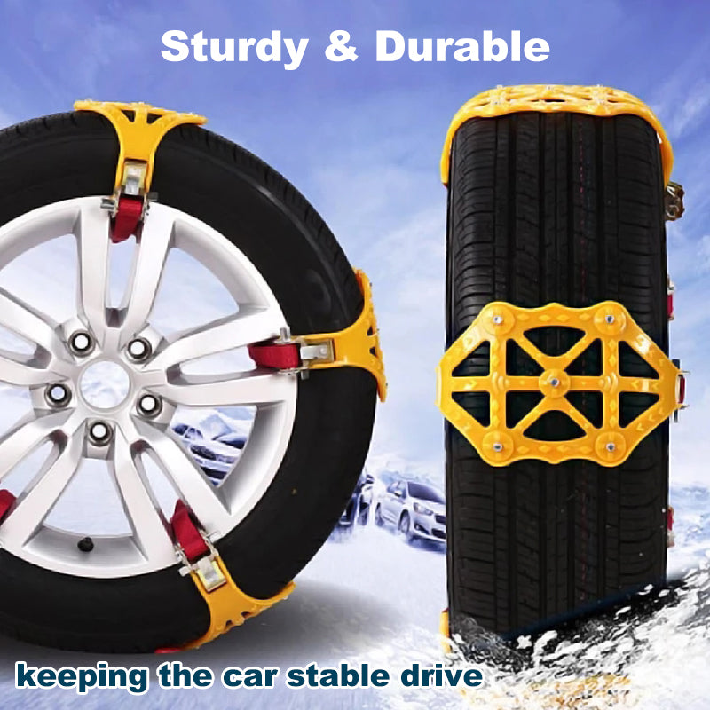 Anti-Skid Emergency Snow Tire Chains - mygeniusgift