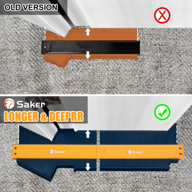 Saker® Split Joint  Contour Profile Gauge