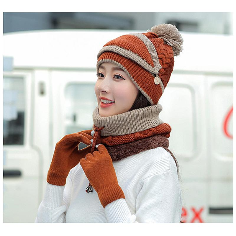 Mygeniusgift™ Women's Winter Scarf Set - mygeniusgift