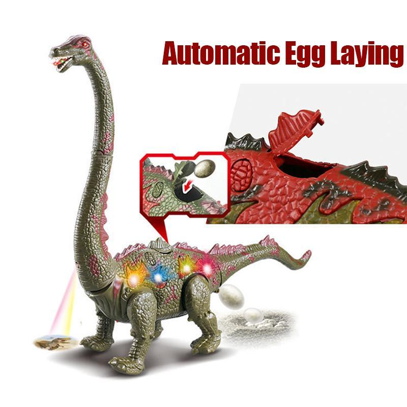 Walking Brachiosaurus Toy with LED Projector - mygeniusgift