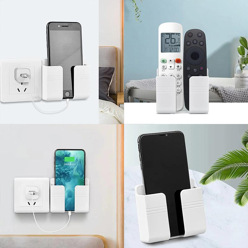 Wall-mounted mobile phone charging stand