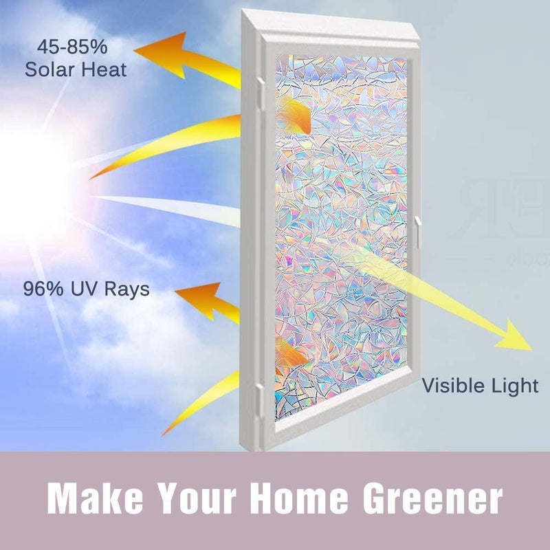 3D Rainbow Window Film - mygeniusgift