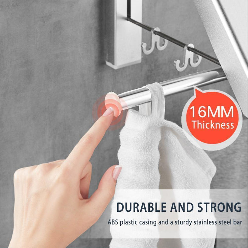 Folding Retractable Clothes Rack - mygeniusgift