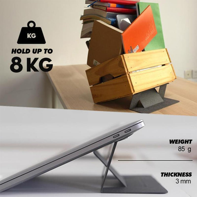 Invisible Ultra-thin Laptop Holder - mygeniusgift
