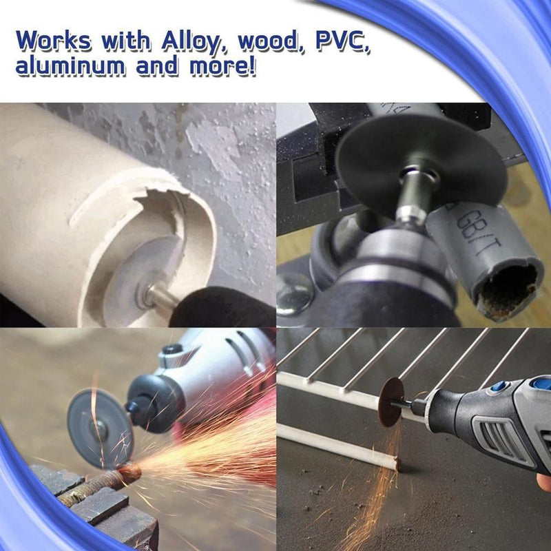 Disc Drill Blades and Mandrel High Speed Steel Saw Blade